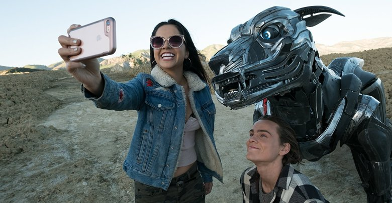 Becky G and Alex Neustaedter with A-X-L