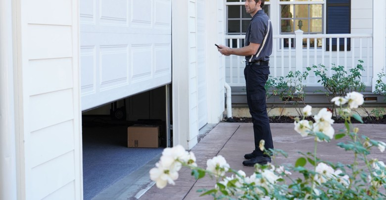 Amazon Key for Garage delivery