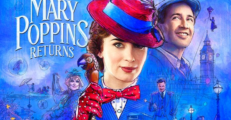 mary poppins returns poster emily blunt