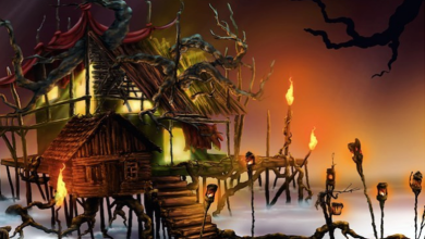 Digital Creative of Dark Horizon's Vodou Haunted House at Dark Horizon