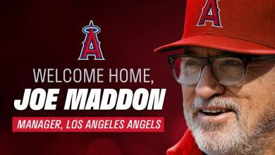 Photo of The Los Angeles Angels sign Joe Maddon