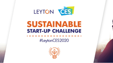 Photo of LEYTON SUSTAINABLE START-UP CHALLENGE EXHIBIT AT CES 2020