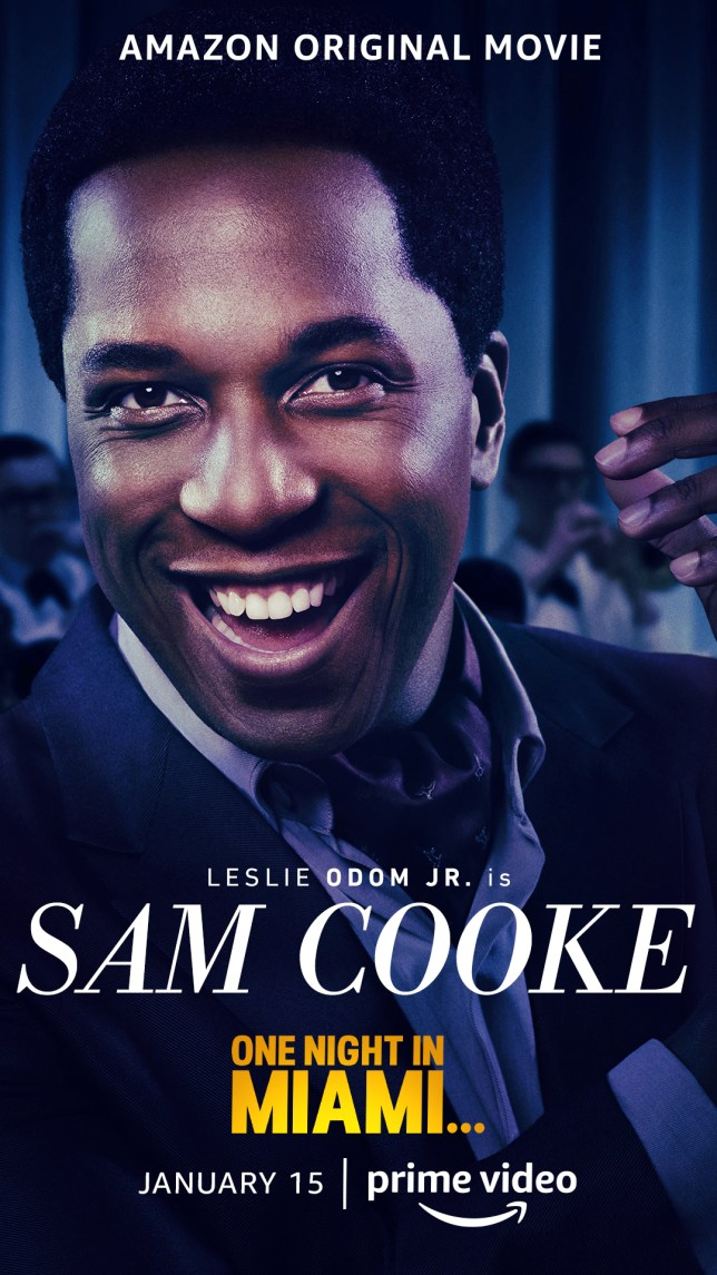 Sam Cooke One Night in Miami Amazon Studios