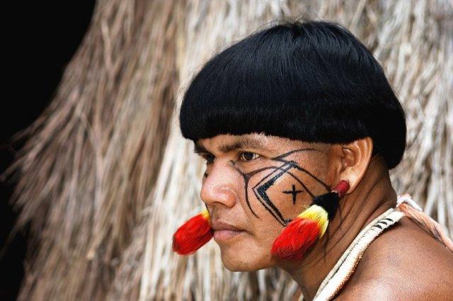 Índio sem pelos