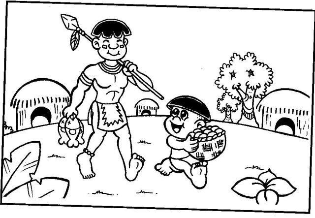 desenhos-desenho-de-indios-para-colorir-25