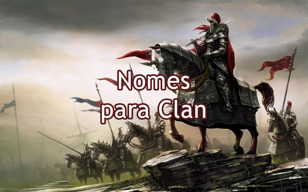Nomes para Clan