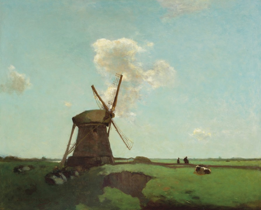the French artists ; from 26 February, nineteenth-century painters from' colony Barbizon