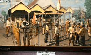 diorama di museum waspada purbawisesa