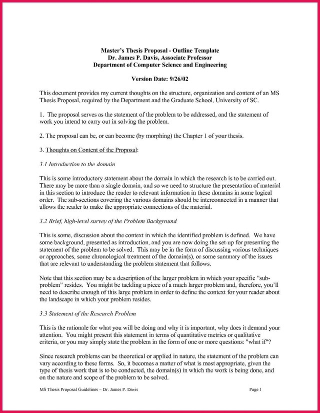 How to write thesis proposal - STUDENT THESIS PROPOSAL GUIDELINES