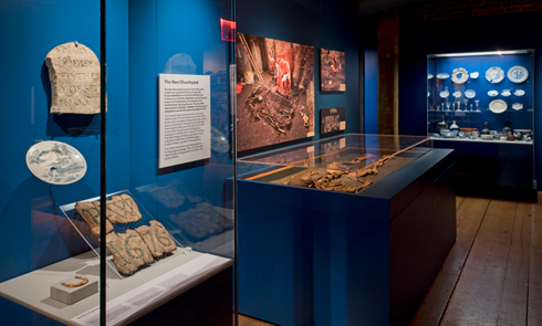Inside Tunnel: The Archaeology of Crossrail exhibition
