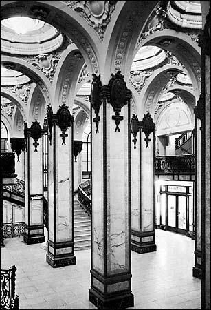 Singer Building interior, NYC