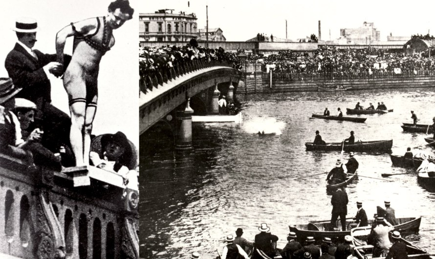 When Houdini Jumped in the Yarra