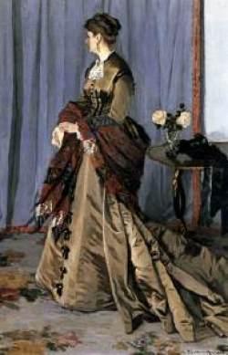 Portrait of Lady Gaudibert, by Monet
