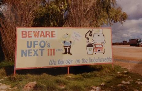 Aliens on the Nullarbor