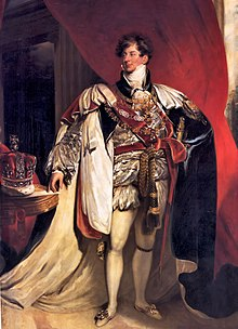 George IV, on the eve of his coronation