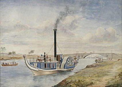 Paddle steamer to Cremorne Gardens