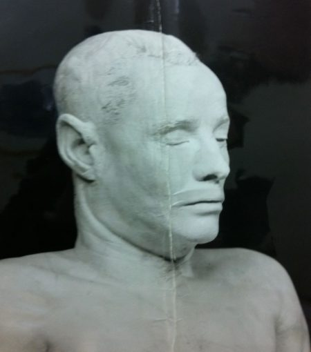 Cast of The Somerton Man's head