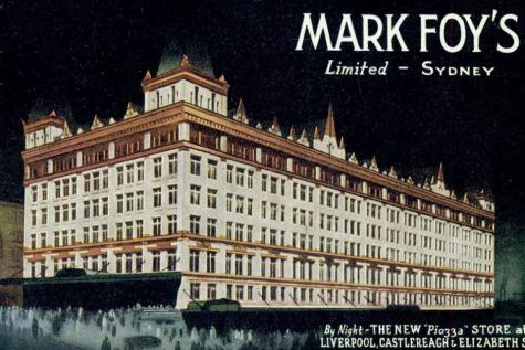 Foy's grand Sydney store