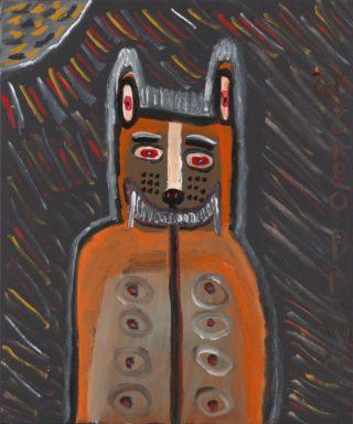 'I am the Dingo Spirit' by Trevor 'Turbo' Brown