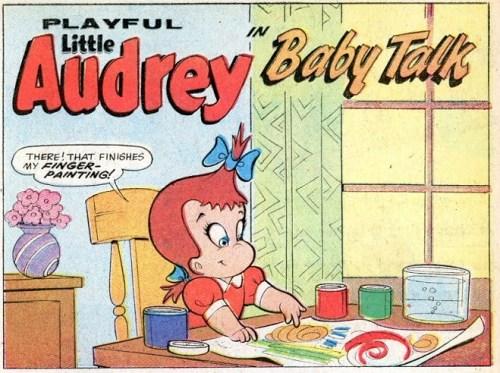 A 'Little Audrey' comic, 1940s