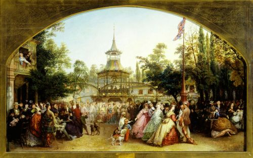 London's Cremorne Pleasure Garden.