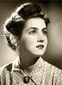 Francoise Gilot as a young woman