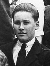 Errol Flynn as a chubby cheeked boy.