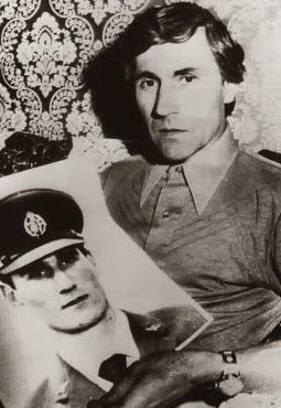Guido Valentich, with a photo of Frederick Valentich