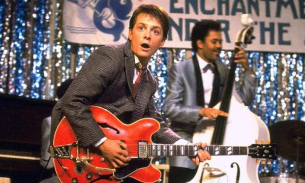 Michael J Fox guitar back to the future