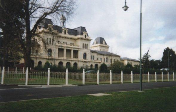 A photo of Kew Asylum present day