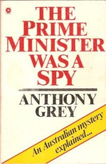 A book accusing Harold Holt of being a spy.