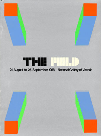 The first exhibition at the NGV: The Field Show