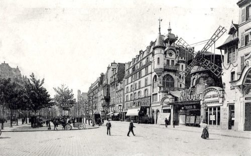 Montmartre in the 19th century