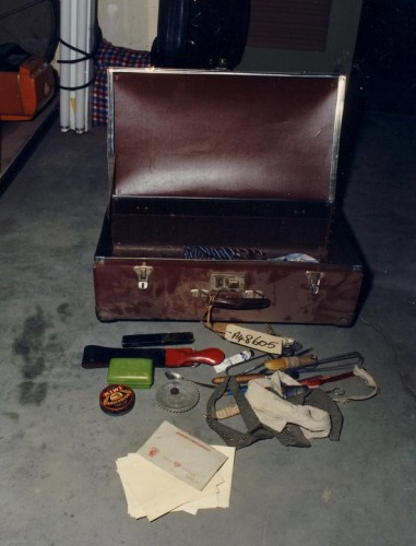 The Somerton Man's suitcase