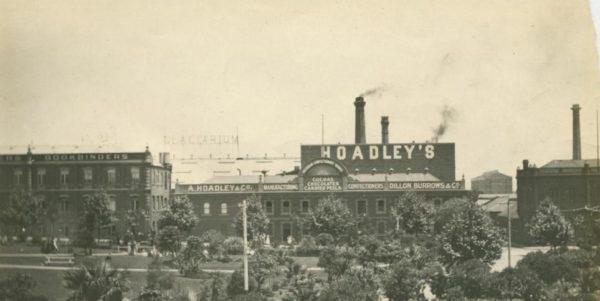 Southbank factories, circa 1900