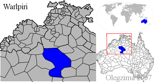 Warlpiri tribal lands