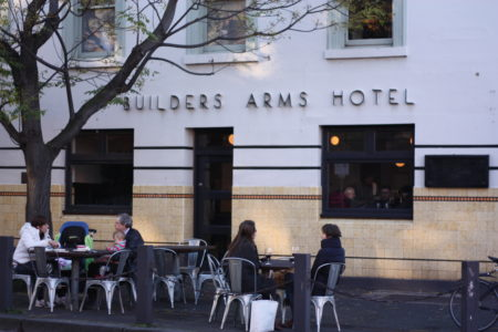 The Builders Arms: The black pub of Melbourne