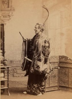 The Princess Theatre Ghost: Federici as 'The Mikado'