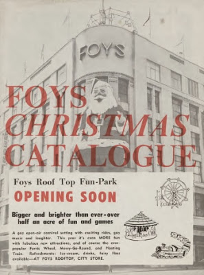 Foy's Christmas catalogue cover