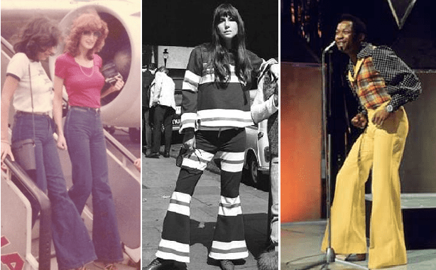 The Rise and Fall of Flared Pants