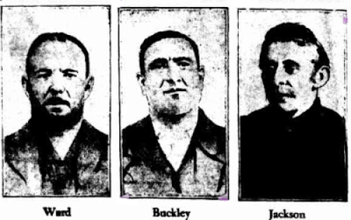 Criminals involved in the Trades Hall Robbery