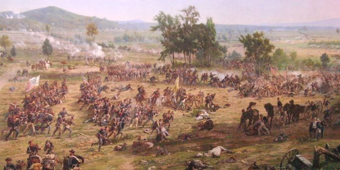 Excerpt from Chicago's 'Gettysburg' cyclorama