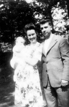 Ed and Lorraine Warren as a young couple.