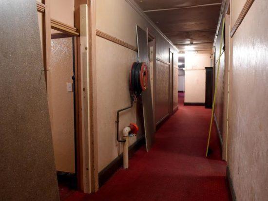 Corridor inside The Gatwick