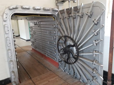 Point Nepean Quarantine Station: giant disinfecting oven