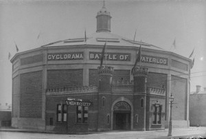 A picture of the Cyclorama in Fitzroy, Melbourne