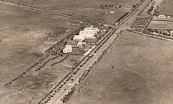 Essendon Airport in the 1930s