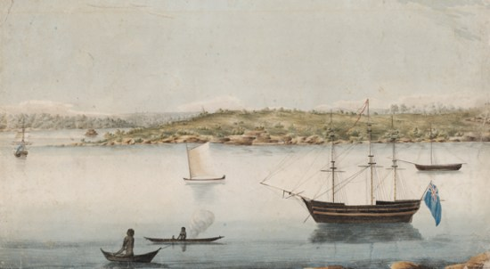 Before the Sydney Opera House: Bennelong Point, 1804