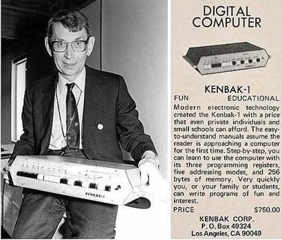 The Kenbak 1, the first personal computer