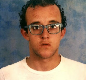Keith Haring in the late 70's